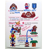 Donkey Kong Jr. Instruction Card