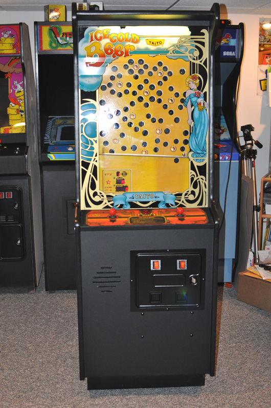 Ice cold beer arcade game restoration part 4 chompingquarters com