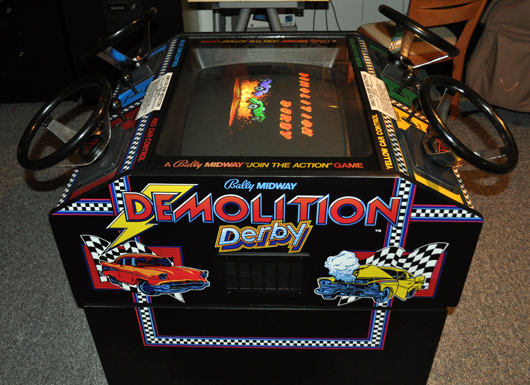 Bally Midway Demolition Derby Restoration Part 3